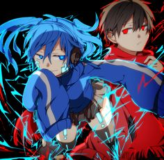 Ene and Shintaro (Kagerou Project)