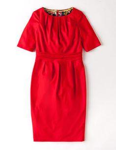 Chic Wool Dress
