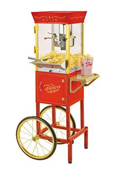 Buy Nostalgia CCP510 53-Inch Tall Vintage Collection 6-Ounce Kettle Popcorn Cart - Topvintagestyle.com ✓ FREE DELIVERY possible on eligible purchases