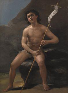 Francisco de Goya.  Young Saint John the Baptist in the Desert.