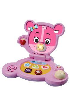 VTech Baby Bear Laptop - Pink | littlewoods.com