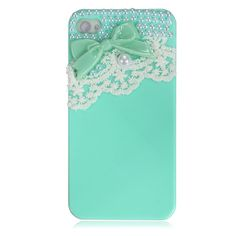 Cute Ice Cream Bow Lace Pearl Candy Hard Case Back Cover for Apple iPhone 4 4S   eBay