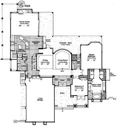 Spacious Florida Contemporary - 6314HD | 1st Floor Master Suite, Butler Walk-in Pantry, CAD Available, Corner Lot, Florida, Jack & Jill Bath, Loft, MBR Sitting Area, Mediterranean, PDF, Southern, Spanish | Architectural Designs