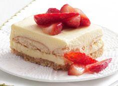 Strawberry Shortcake Squares http://wm13.walmart.com/Food-Entertaining/Recipes/22152