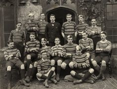 This is a collection of vintage sports photos from the earliest years of photography until Rugby Pictures, Sports Pictures, Balliol College, Olympic Sports, College Years, Fleas, Painting, Den, Vintage