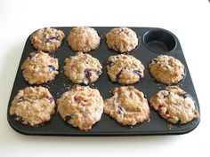 Blueberry and Strawberry Muffins | Kirbie's Cravings | A San Diego food blog