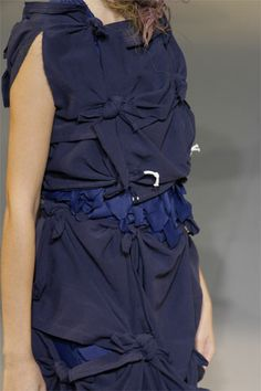 DETAIL OF LOOK19 SPRING 2008 READY-TO-WEAR Comme des Garçons