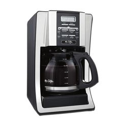 Coffee 12 Cup Programmable Coffee Maker with Thermal Carafe Option, Chrome Mr. Coffee 12 Cup Programmable Coffee Maker with Therm. Best Drip Coffee Maker, Mr Coffee Maker, Coffee Maker Reviews, Shops, Best Espresso, Black Coffee, Carafe, The Fresh, Espresso Machine