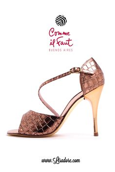 Worlds Finest Collection of Comme il Faut High Heels Evening Dancing Shoes for Tango, Salsa and Bachata. Only 60 pairs made per design.... Make sure you get there first!