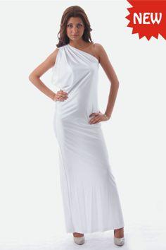 NEW Elegant Evening Womens White Summer Maxi Dress BNWT Size 6 8 10 12 14 16 18 | eBay