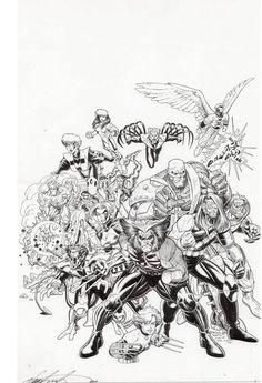 Age of Apocalyse - X-Men by Arthur Adams *