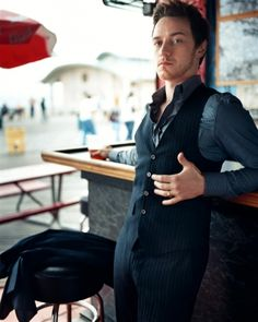 James MacAvoy. very well dressed. well done, sir. well done!