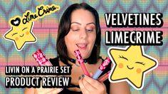 Lime crime * Product review * Matte Liquid lipsticks * LIVIN ON A PRAIRI...