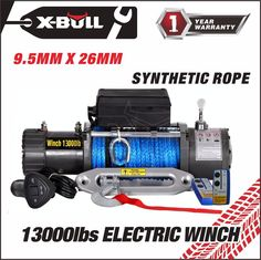 X-BULL 12V 13000LBS Electric Winch Towing Truck Trailer Synthetic Rope 12000LBS | eBay Motors, Parts & Accessories, Car & Truck Parts | eBay!