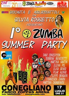 Zumba Summer Party - 17 luglio 2013