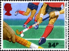 Royal Mail Special Stamps |World Hockey Cup London 1986. Hockey