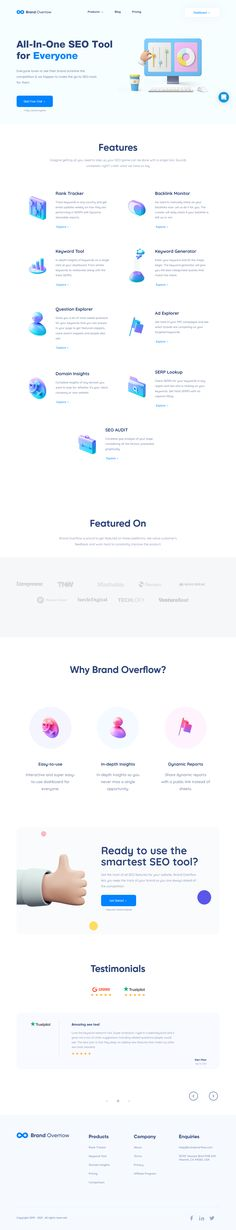 BrandOverflow is a marketing data platform that aims to be the only tool you will ever need to analyse, enhance and optimize your digital marketing (specially SEO) efforts. The post BrandOverFlow PRO-100 appeared first on DiscountSAAS. Marketing Software, Marketing Data, Internet Marketing, Digital Marketing, Seo Tools, Online Business, Effort, The 100, Platform