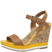 Payless??  $24....I can actually afford these.  I am obsessed with yellow right now.