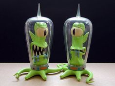 Kang and Kodos - The Simpsons - named after characters in Star Trek...