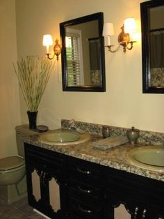 Before and After - Avocado Bathroom Update - Home Decorating & Design Forum - GardenWeb