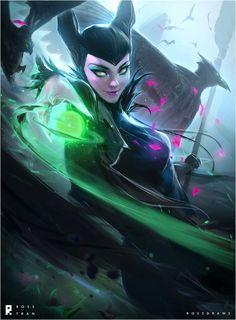 Maleficent : YouTube! by rossdraws.deviantart.com on @DeviantArt