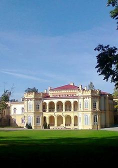 Palace (Now a High School) in Rzeszow, Poland