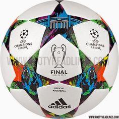 Blog Esportivo do Suíço: Suposta bola da próxima final da Liga dos Campeões vaza na internet