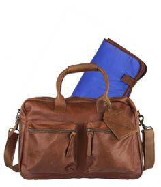 Cowboysbag Luiertas incl. matje bij The Little Green Bag
