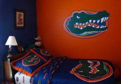 Dominic 39 S Room On Pinterest Florida Gators Room Florida Gators And Young Boys
