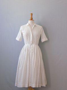 50's day dress