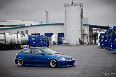 Honda Civic EK #hatch #honda