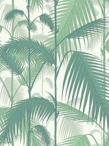 Cole & Son Wallpaper – Palm Jungle – Forest Green/White  $118.99 Per 11-Yard Roll #home #decor #interior #design #tropical #style #botanical #green #whitney #port #celebrity