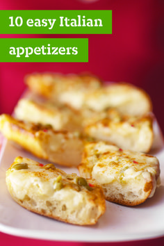10 Easy Italian Appetizers – There are Italian appetizers. And then there are these easy Italian appetizers — including easy spreads, easy dips, and easy bruschetta recipes. They make it possible for you to wow party guests and actually have time to sit and chat!