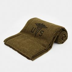 Army Medic Wool Blanket  Since the 1890s, Faribault Woolen Mill has crafted blankets for our military. These blankets are prized for their sturdy construction, which allows them to stand up to the most difficult conditions. You may not need one for overseas deployment, but you can still enjoy the benefits at home. This Army Medic Wool Blanket is made in the USA out of 100% wool. It's based on the original blanket created for the U.S. Army Medical Corps, and it clocks in at a solid 3.5 lbs…