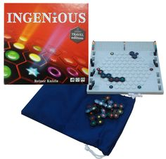 Amazon.com: Ingenious Strategy Board Game - Travel Version: Toys & Games