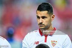 Vitolo en el Sevilla 1 - Olimpique Lyon 0
