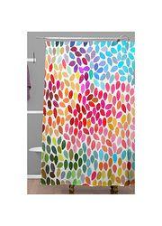 DENY Designs Garima Dhawan Dots Rain Shower Curtain found on sale at ALL MODERN 7 months ago