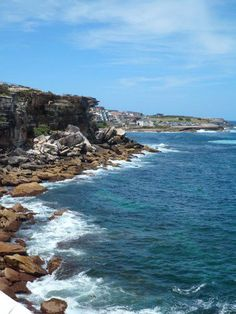 A picture I took in Coogee Beach, Australia