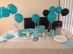 Tiffany And Co party for my daughters sweet 16 16th Birthday, Birthday Ideas, Daughters, To My Daughter, Tiffany And Co, Sweet 16, Party Ideas, Entertaining, Cool Stuff