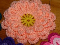 Various Japanese Flower Creations: Japanese Flower Patterns (free pattern)