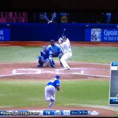 Toronto Blue Jays center fielder Kevin Pillar robbed Luke Maile of the Tampa Bay…