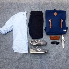 Yesterday's outfit grid by josh_hipos http://ift.tt/1WFSxm9