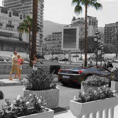 #Casino Monte Carlo #Monaco #Monte #Carlo #mediterranean #casino #square #summer #sun #edit #photo #art #ferrari #supercars #richlist #photography by capturesoftravel from #Montecarlo #Monaco