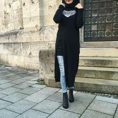 #hijaboutfit#black#simple