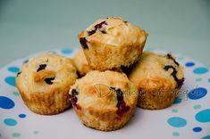 Muffins au fromage cottage et bleuets | Doumdoum se régale!