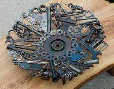 Scrap metal bowl