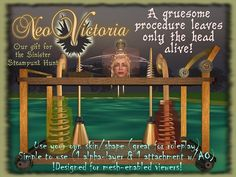 Hunt Name: Sinister Steampunk 2  Date: 1 July to 31 July 2012  Organiser's SL Name: Emedea Morgenstern  Hunt Producer's Website: http://sinistersteampunkhunt.blogspot.com/  SLurl to starting location: http://slurl.com/secondlife/Rag%20Dollz%20Island/134/109/23