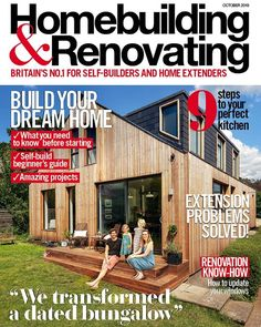 From advice on how to create a light-filled extension and a design guide on renovating a kitchen to design inspiration for the best way to light a home find out how to transform your home with the latest issue of Homebuilding & Renovating!  #homebuilding #selfbuild #renovate #magazine