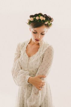 Gunne Sax floral dress Boho wedding gown vintage by whichgoose, Boho Wedding Gown, Wedding Dresses, Boho Gown, Vintage Dresses, Vintage Outfits, Boho Floral Dress, Trendy Dresses, Homecoming Dresses, Dress Prom