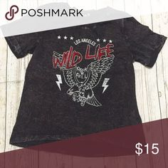  Wild Life Graphic Tee Hello there! Be sure to keep up with me via Instagram--> naacolee  Brand new Wild Life Graphic Top Tops Tees - Short Sleeve